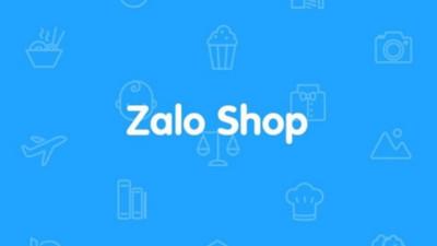 Zalo shop chưa được cấp phép hoạt động