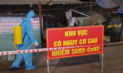Phong tỏa hai khu dân cư ở Vân Đồn và khu chợ ở Hạ Long vì ca nhiễm COVID-19