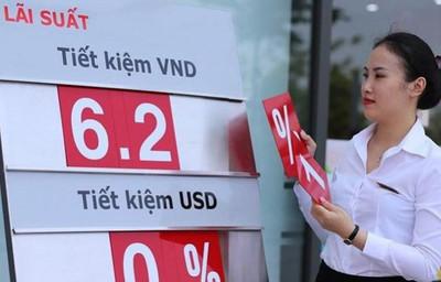 Lãi suất gửi tiết kiệm ngân hàng đồng đã thấp nay còn thấp hơn